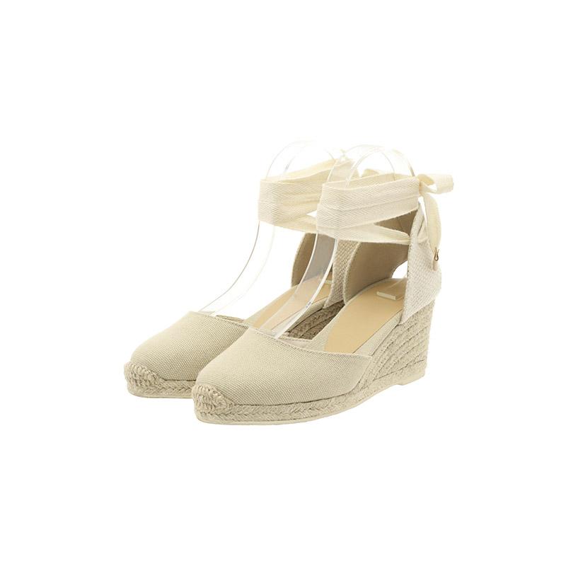 attrangs-sh1897 러블리함과 빈티지함이 공존하는 포인트 에스파듀 웨지 힐  shoes♡韓國女裝鞋