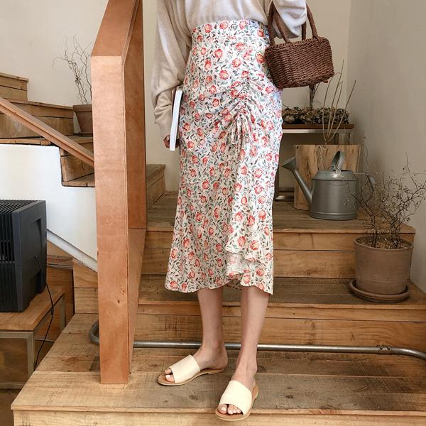 fine-thankyou-엘라스트링스커트_3color♡韓國女裝裙