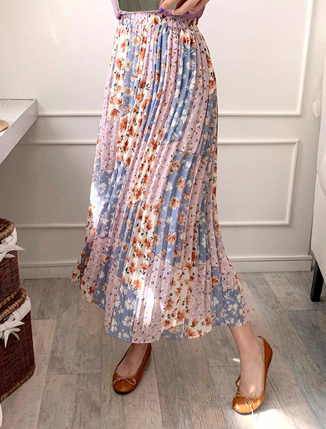 babirolen-[올리 플리츠-sk]♡韓國女裝裙