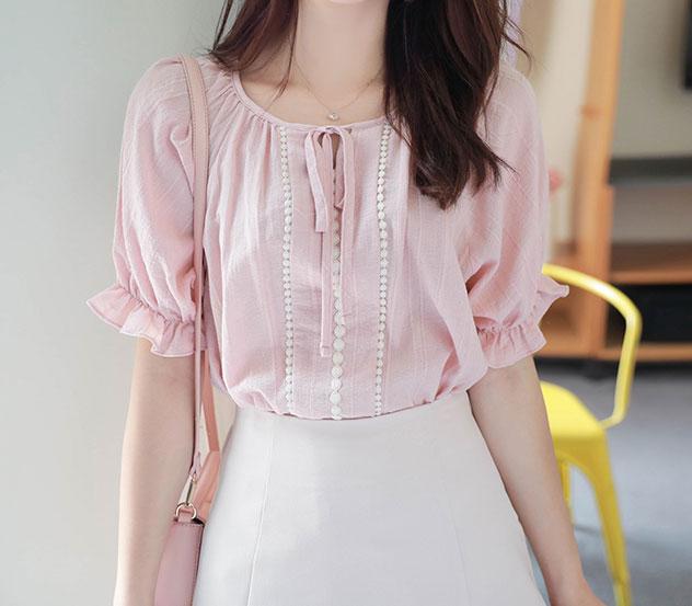myfiona-막내아씨*blouse/a0461♡韓國女裝上衣