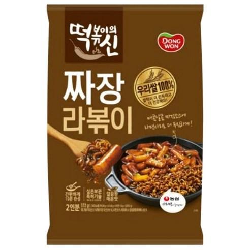 韓國東遠炸醬口味年糕即食麵 372g  (2人份量)