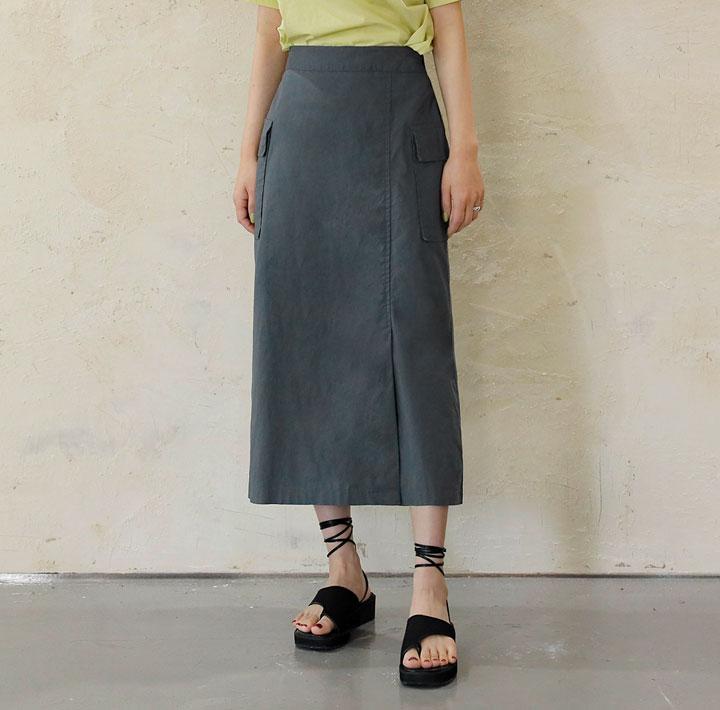 簡潔附口袋直身裙
