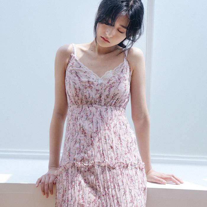 09women-[로하린 주름 뷔스티에 원피스 49934]♡韓國女裝連身裙