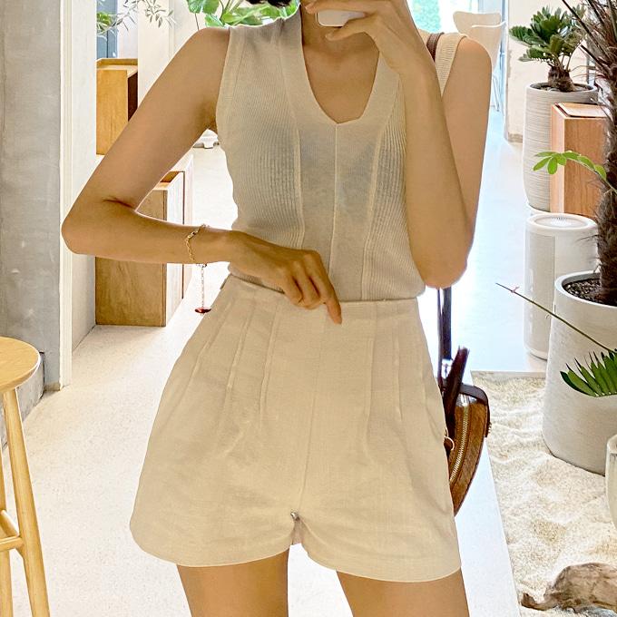 wingsmall-헌터스(포카리핀턱P)♡韓國女裝褲