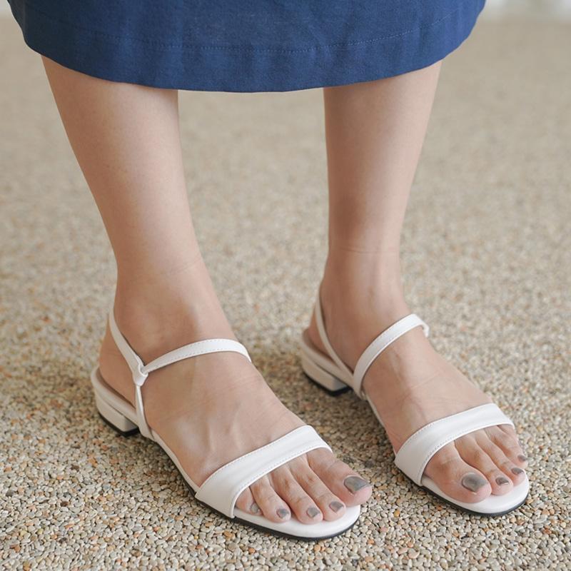 clicknfunny-[드렐 스트랩샌들]♡韓國女裝鞋