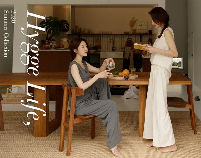 chichera-시크헤라 [휘게_코지이지웨어세트]♡韓國女裝褲