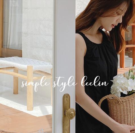 leelin-[온리원 심플 H라인 원피스]♡韓國女裝連身裙