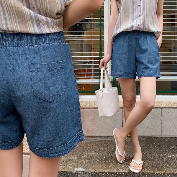 canmart-[카브라데님3부팬츠 C062554]♡韓國女裝褲