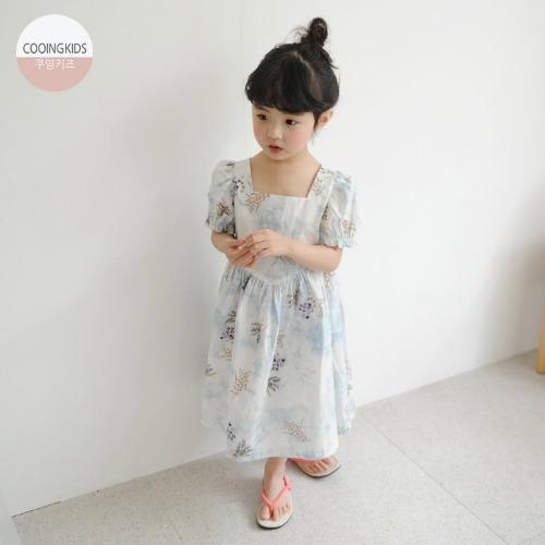 cooingkids-E설이원피스 북유럽 여름 여자아기옷 쇼핑몰 예쁜 아동복♡韓國童裝連身裙