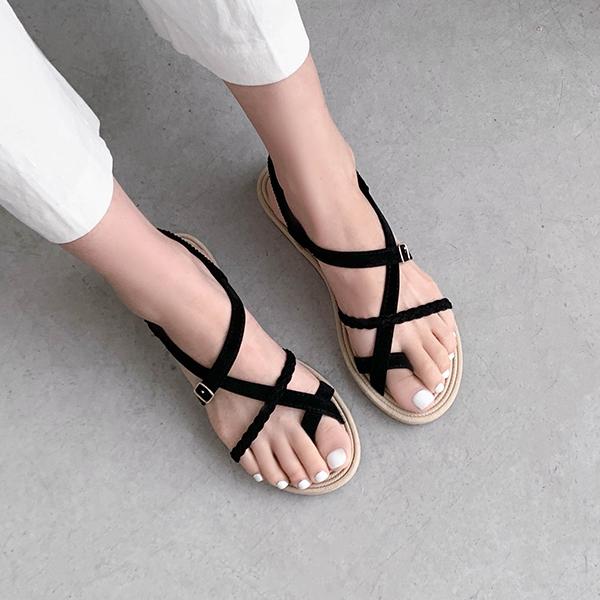 canmart-[애나스트랩샌들 C062402]♡韓國女裝鞋