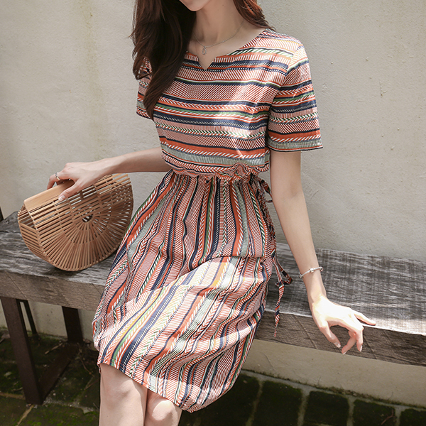 canmart-[트임에스닉원피스 C071746]♡韓國女裝連身裙