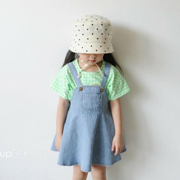 cooingkids-B데님훌원피스 북유럽 유아복 아기옷 여자아기옷쇼핑몰♡韓國童裝連身裙