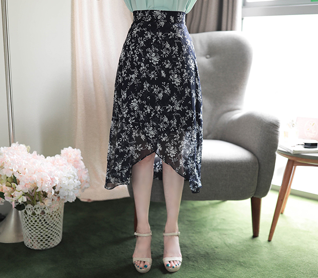 myfiona-꽃잎들사이로*skirt/a0533♡韓國女裝裙