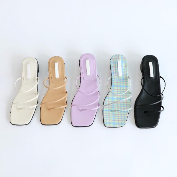 benito-제인드 스트랩 슈즈 (5color) 2cm♡韓國女裝鞋