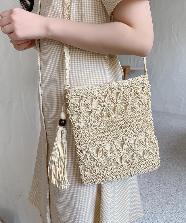 編織斜挎袋