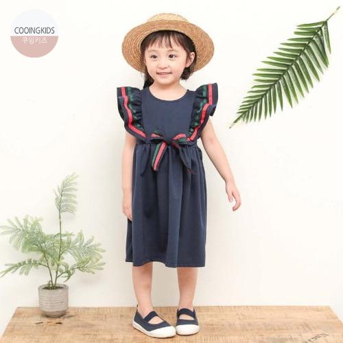 cooingkids-H리본원피스♡韓國童裝連身裙