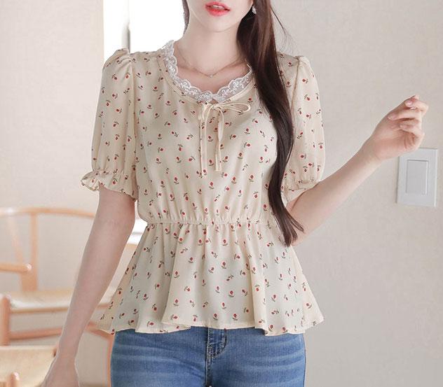 myfiona-둘째아씨*blouse/a0521♡韓國女裝上衣