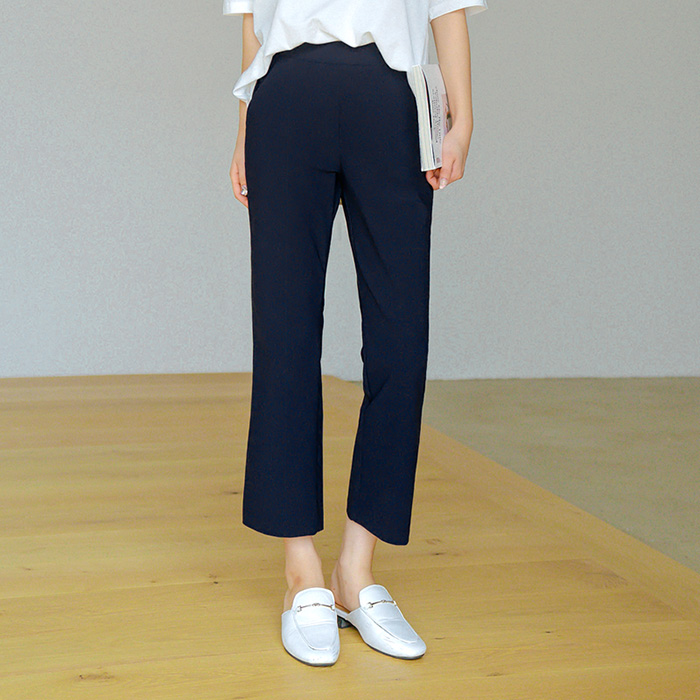 09women-[썸니 쿨스판 8부 부츠컷 팬츠 50069]♡韓國女裝褲