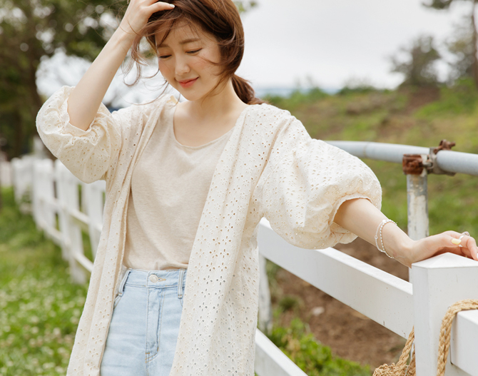chichera-시크헤라 [로맨틱펀칭로브]♡韓國女裝外套