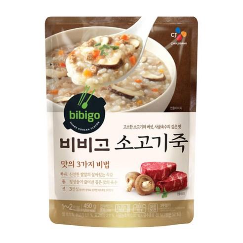 Bibigo 비비고 牛肉香菇即食粥 450g
