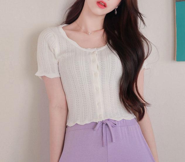 myfiona-유니크물결*cardigan/a0519♡韓國女裝上衣