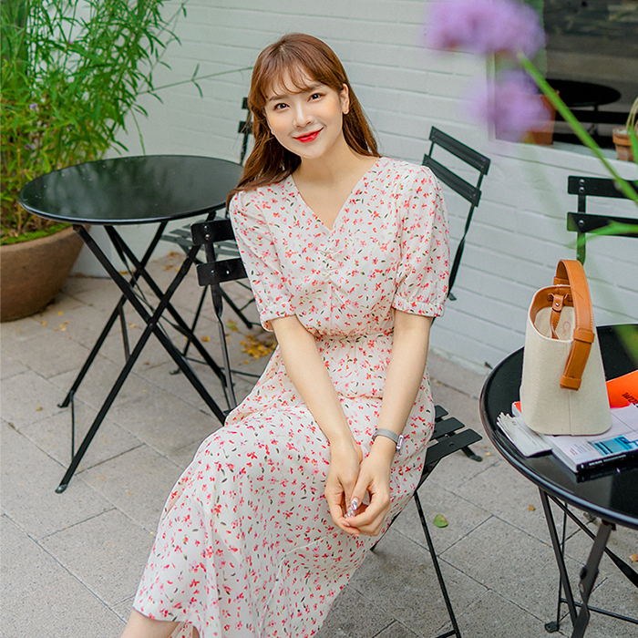 09women-[르벨 롱 원피스 49917]♡韓國女裝連身裙