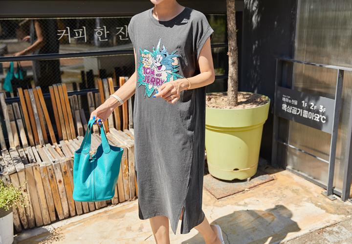 joamom-조아맘[톰과제리 원피스 JO0552]♡韓國女裝連身裙