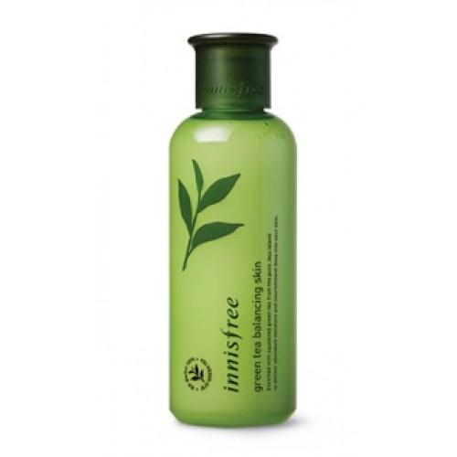 Innisfree 綠茶平衡爽膚水(混合性皮膚用) 200 ml (到期日: 2019年9月)