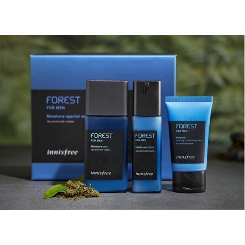 Innisfree 森林系列 - 男士保濕護膚套裝 - 一般/乾性皮膚用 (到期日: 2020年9月)