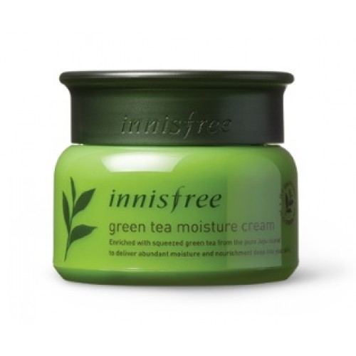 Innisfree 綠茶保濕面霜(乾性皮膚用) 50ml (到期日: 2020年9月)