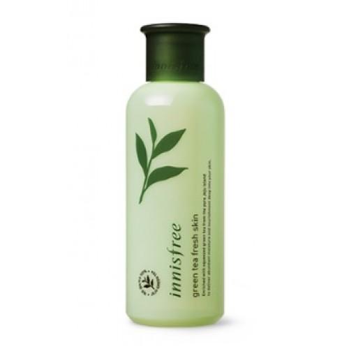 Innisfree 綠茶清爽爽膚水(油性皮膚用) 200 ml (到期日: 2019年7月)