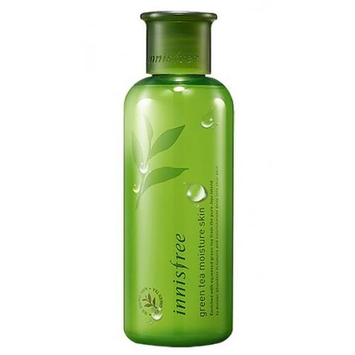 Innisfree 綠茶保濕爽膚水(乾性皮膚用) 200ml (到期日: 2019年12月)