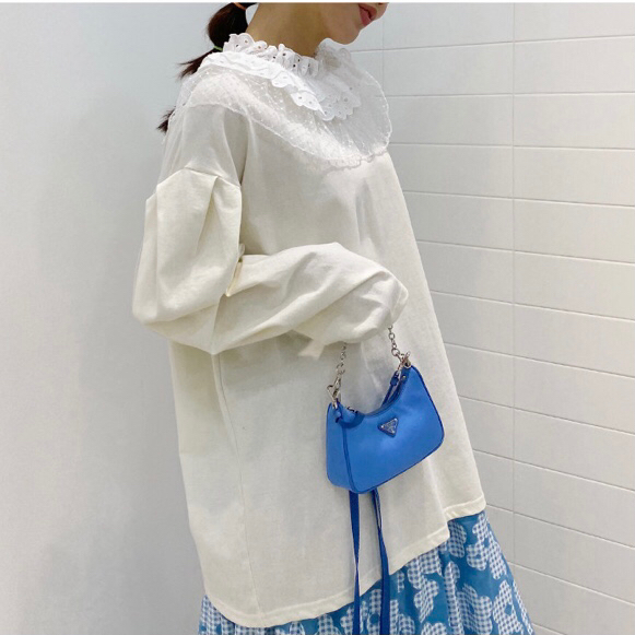 FRANC-L-- 女士拼接百搭長袖襯衣&