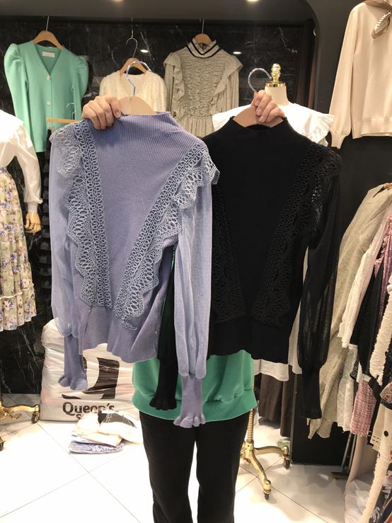 CoCo Holic-- 女士休閑時尚長袖針織衫