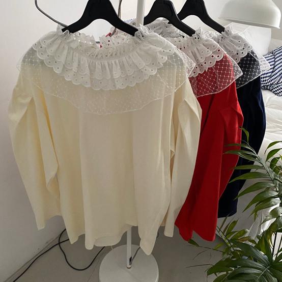 FRANC-L-- 女士休閑長袖時尚T卹衫