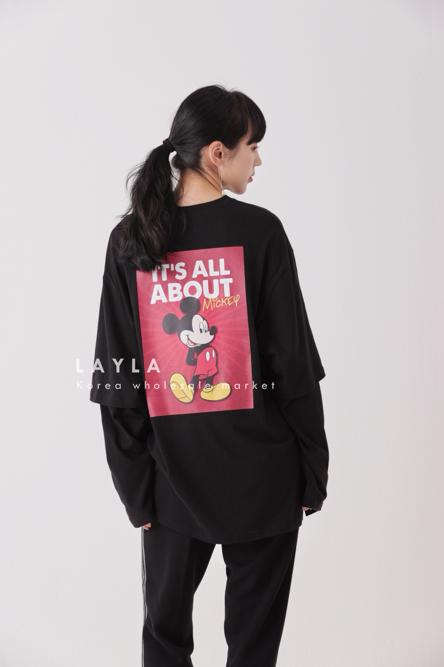 LAYLA-- 女士寬松長袖休閑運動衫不含其它&