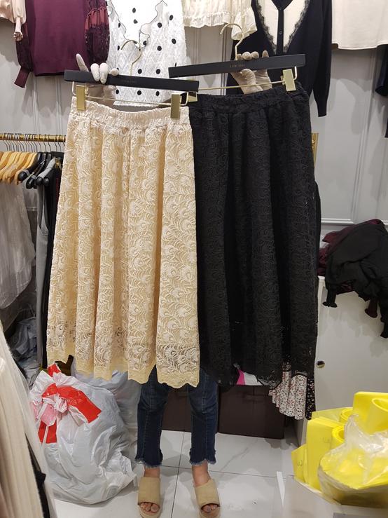 BIKINI-- 女士氣質束腰時尚迷笛裙