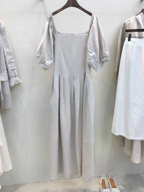 FRANC-S-- 女士簡潔短袖時尚連衣裙