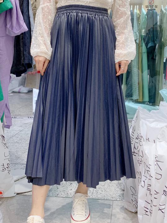 Adorable-U-- 女士寬松休閑超長裙不含其它&