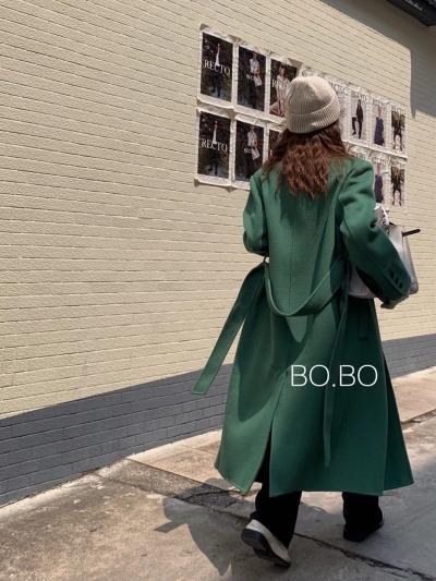 ABITO-- 女士時尚寬松長袖外套不含其它&