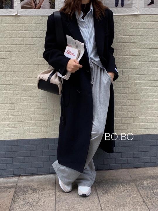 ABITO-- 女士翻領長袖休閑外套不含其它&
