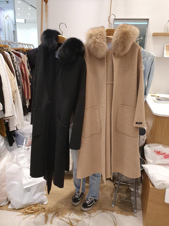RA RA BRIDGE-- 女士時尚長袖貼袋外套