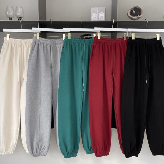 BIRTHDAY-- 女士簡潔凈版休閑褲