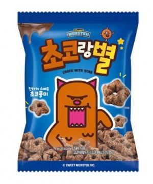 韓國甜心怪獸 朱古力星星 79g