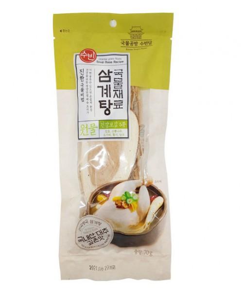 韓國人蔘雞材料包 70g