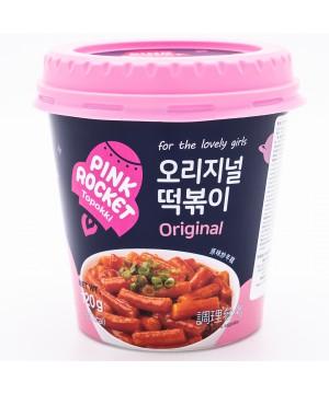 韓國粉紅火箭 - 韓國炒年糕(原味) 1杯/120g