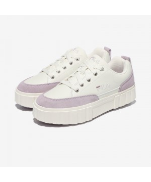 韓國FILA SAND BLAST ROW SUEDE餅乾鞋 (紫色)