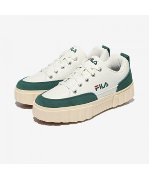 韓國FILA SAND BLAST ROW SUEDE餅乾鞋 (綠色)
