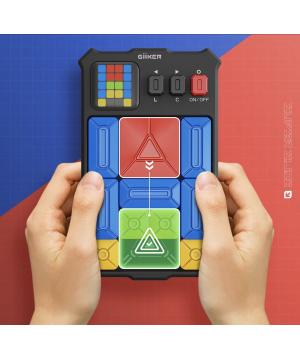 Giiker超級華容道  思維訓練器   兒童益智玩具500+訓練關卡   感應通關遊戲機
