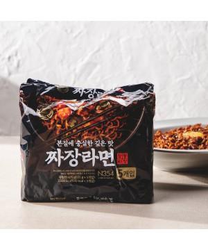 韓國 No Brand 炸醬麵 (5包裝) 675g